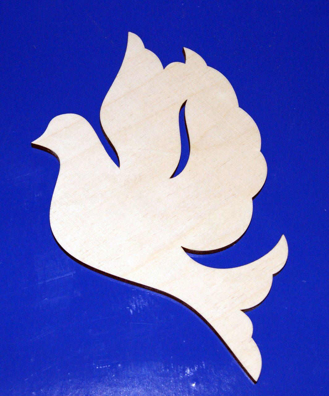 Голуби из дерева своими руками 14