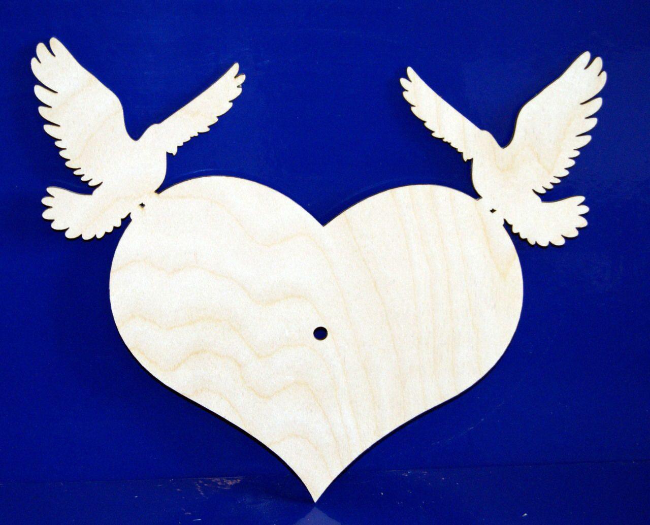Вырезание голубя мира своими руками 986