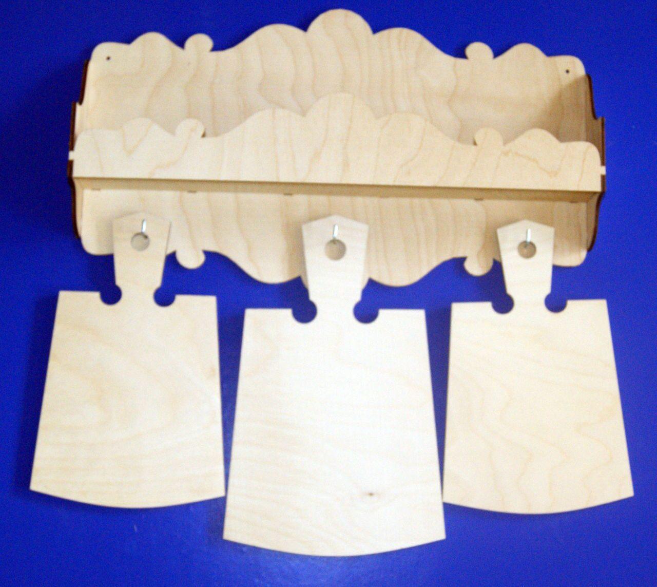 Изделия из фанеры своими руками для кухни